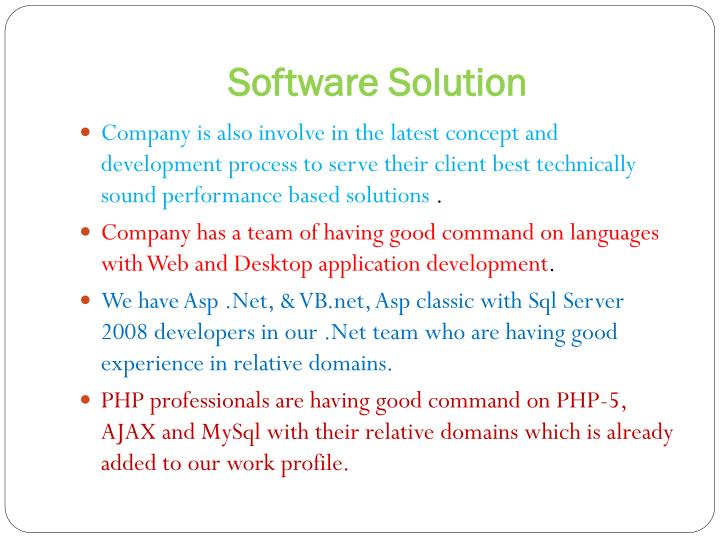 SoftwareSolution