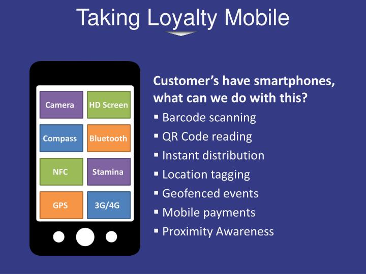 Taking Loyalty Mobile
