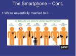 the smartphone cont