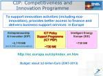 http ec europa eu cip index en htm