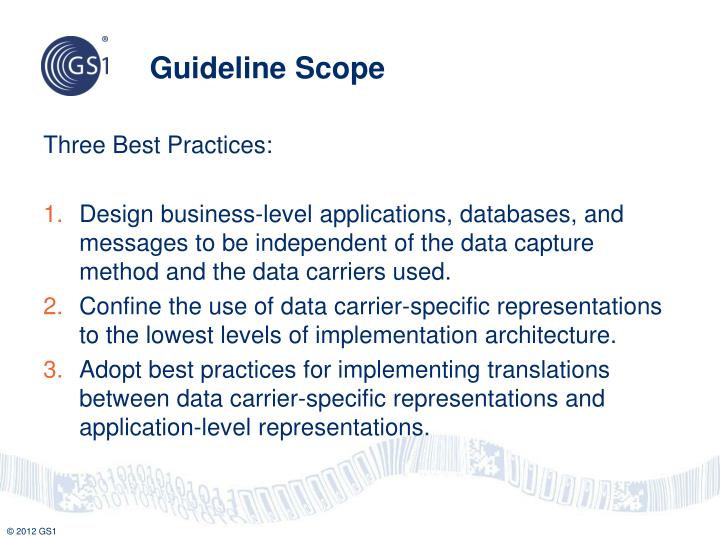 Guideline Scope