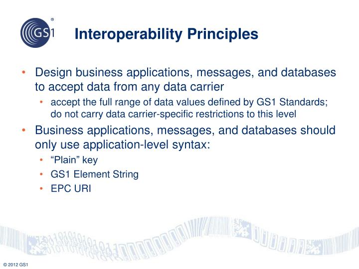 Interoperability Principles