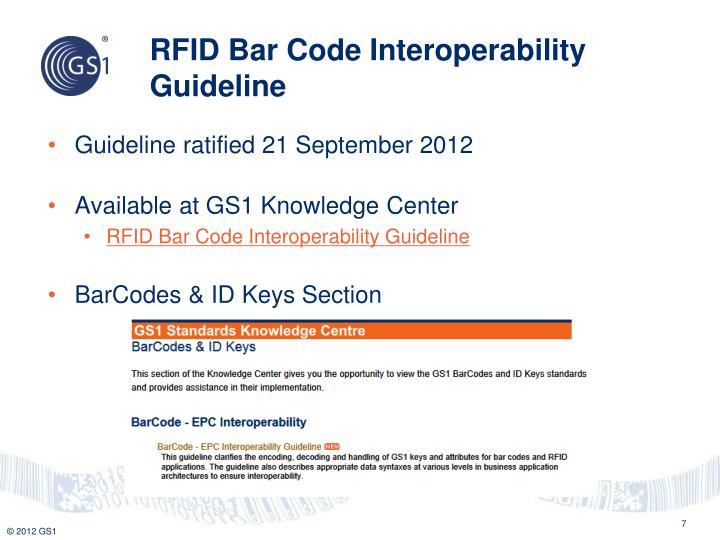 RFID Bar Code