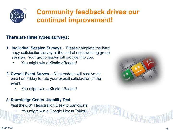 Community feedback drives our continual improvement!