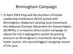 birmingham campaign