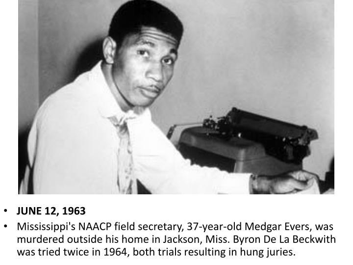 JUNE 12, 1963