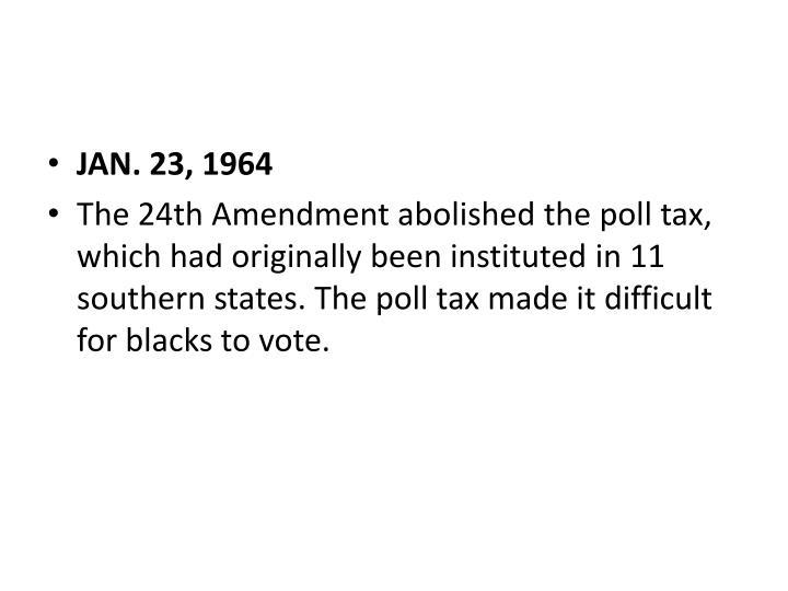 JAN. 23, 1964