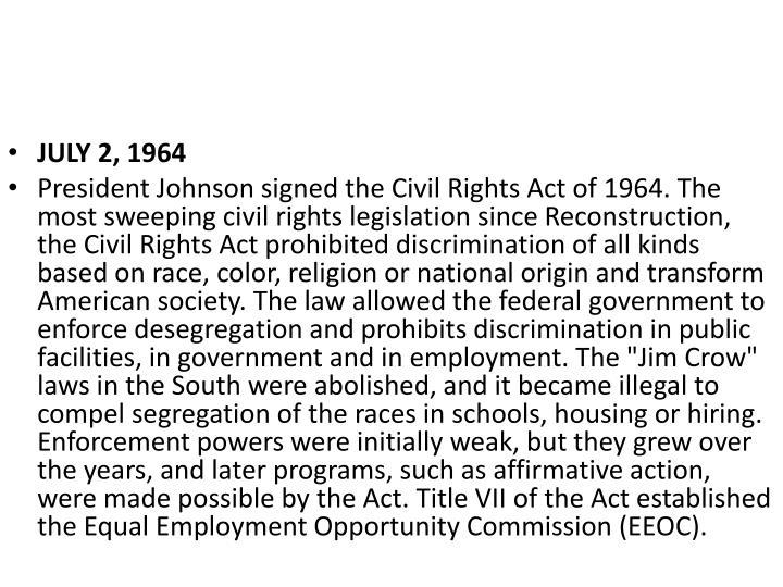 JULY 2, 1964