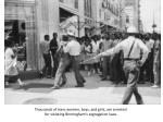 thousands of men women boys and girls are arrested for violating birmingham s segregation laws