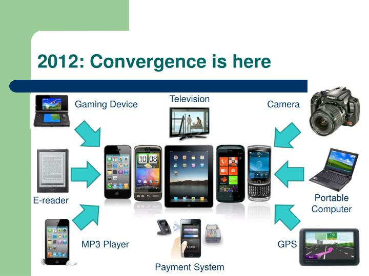 2012: Convergence is here