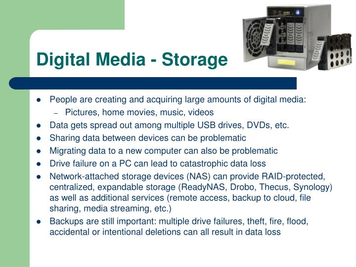 Digital Media - Storage
