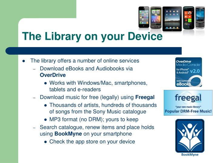 The Library on your Device