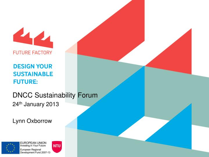 DNCC Sustainability Forum