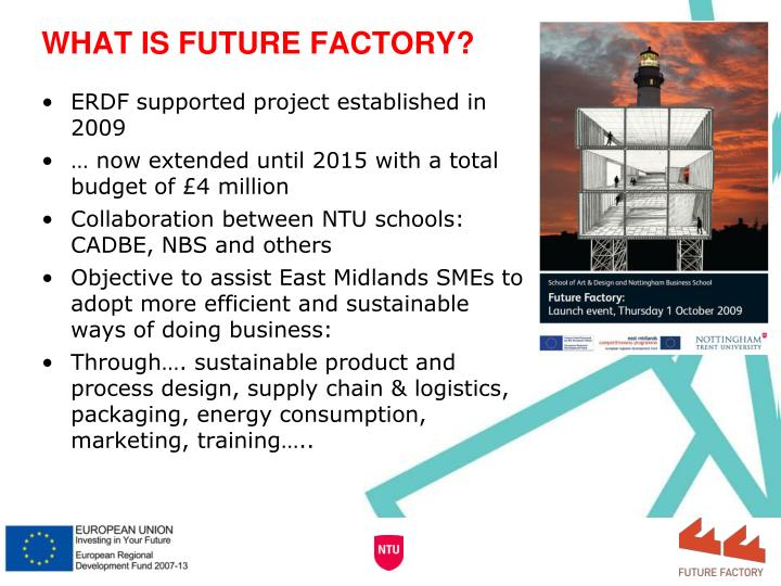 WHAT IS FUTURE FACTORY?