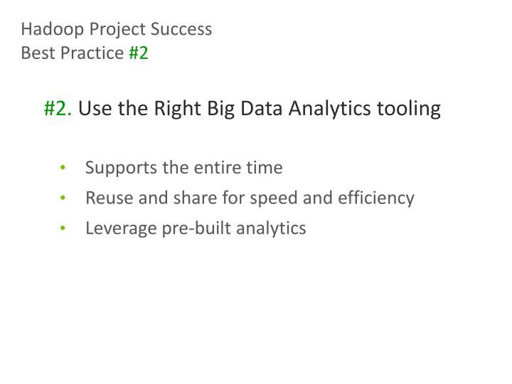 Hadoop Project Success