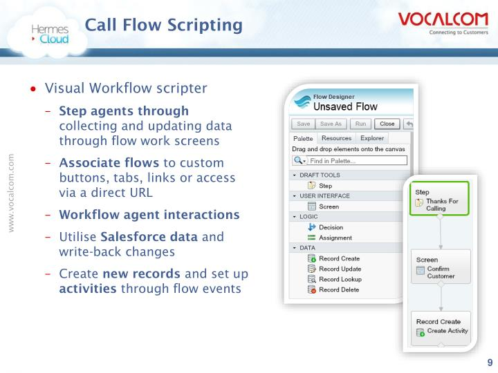 Call Flow Scripting