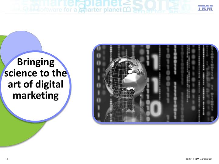 Bringing science to the art of digital marketing