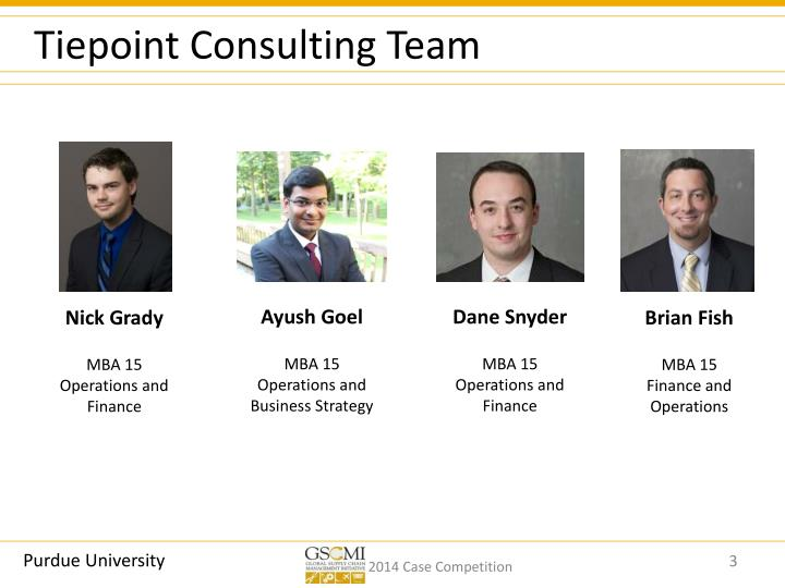Tiepoint consulting team