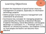 learning objectives9
