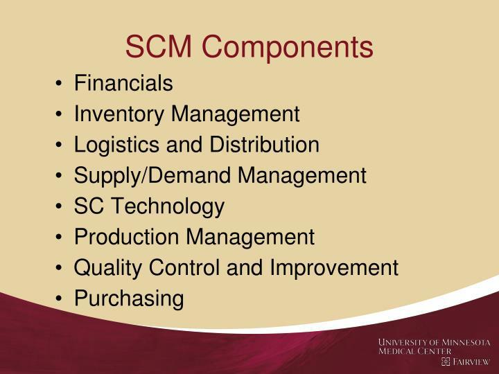 SCM Components