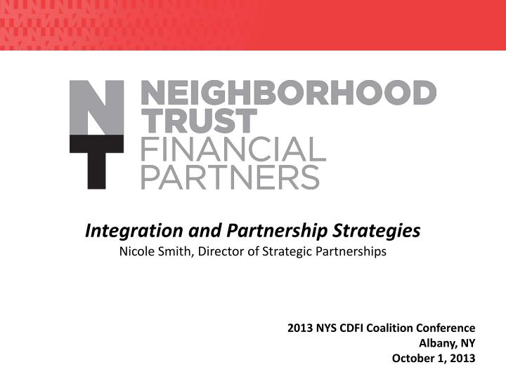 Integration and Partnership Strategies