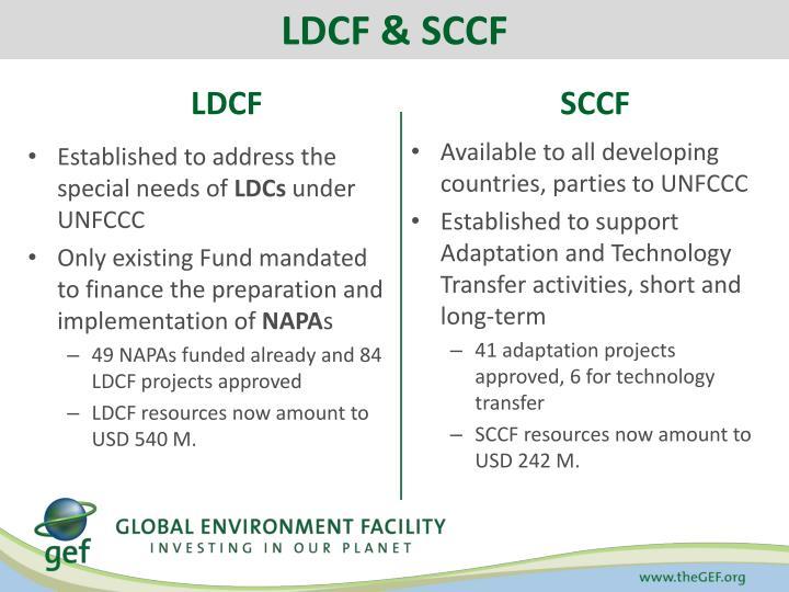 LDCF & SCCF