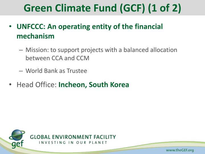 Green Climate Fund (GCF