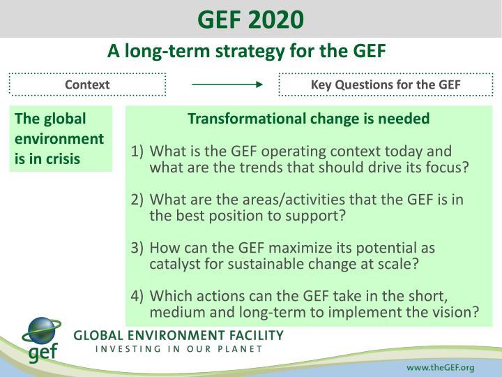 GEF 2020