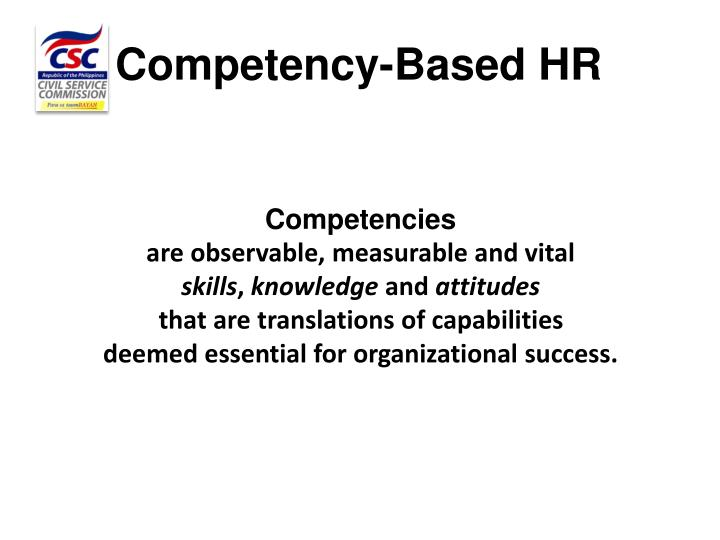 Competency-Based HR