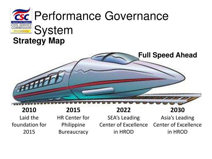 Performance Governance System