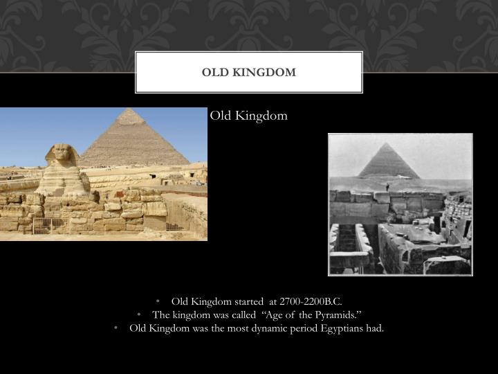 Old kingdom1