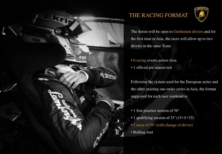 THE RACING FORMAT