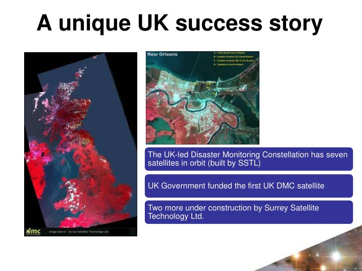 A unique UK success story