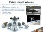 future launch vehicles
