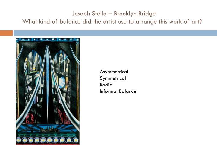 Joseph Stella – Brooklyn Bridge