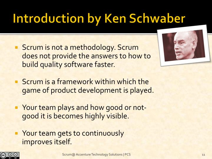 Introduction by Ken Schwaber
