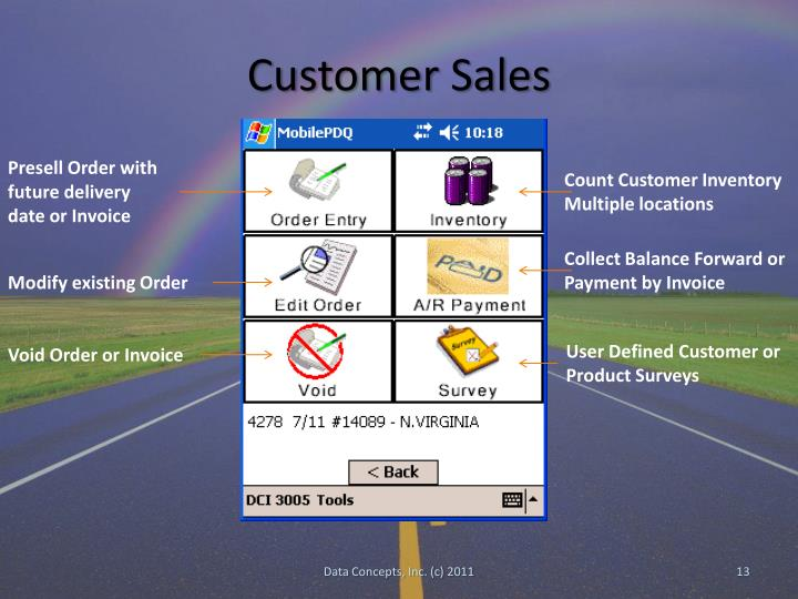 Customer Sales