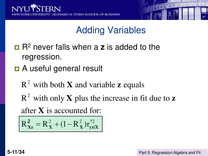 Adding Variables