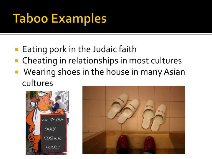 Taboo Examples
