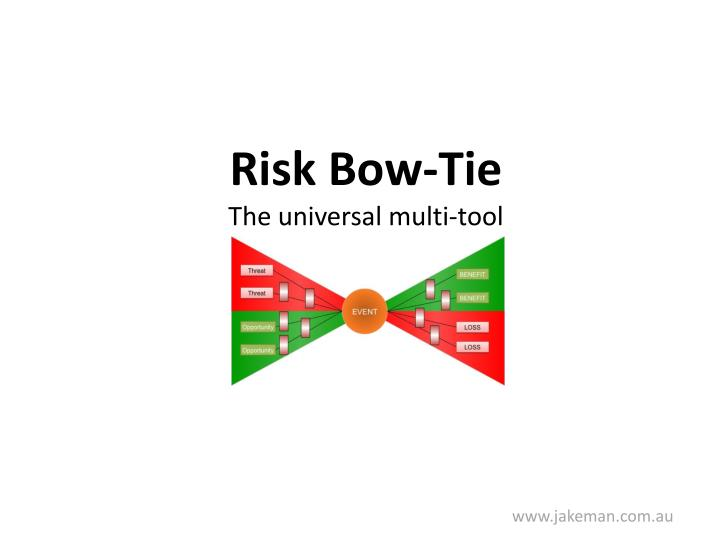 Risk Bow-Tie