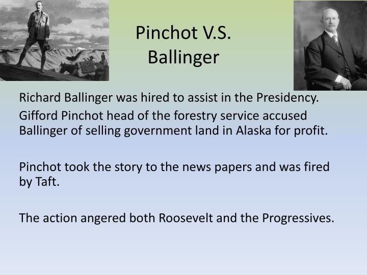 Pinchot V.S. Ballinger