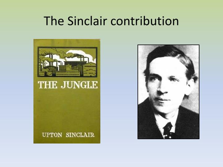 The Sinclair contribution