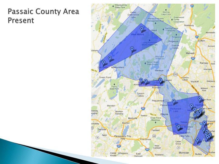 Passaic County Area Present