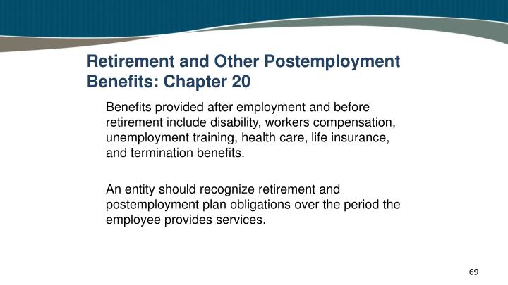 Retirement and Other Postemployment Benefits: Chapter 20