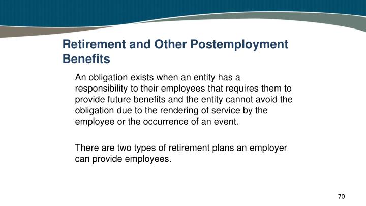 Retirement and Other Postemployment Benefits