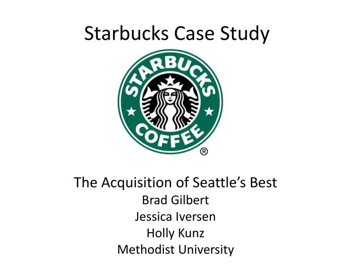 starbuck case study The coffee chain has been a model of using games to build brand loyalty.