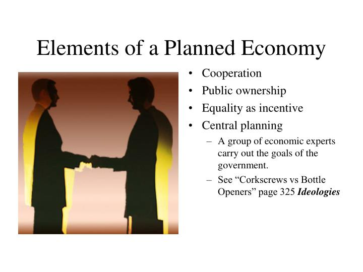 Elements of a Planned Economy