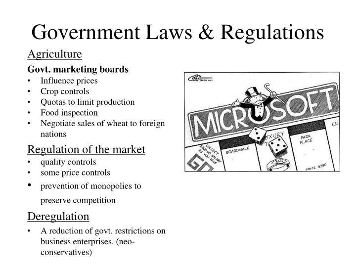 Government Laws & Regulations