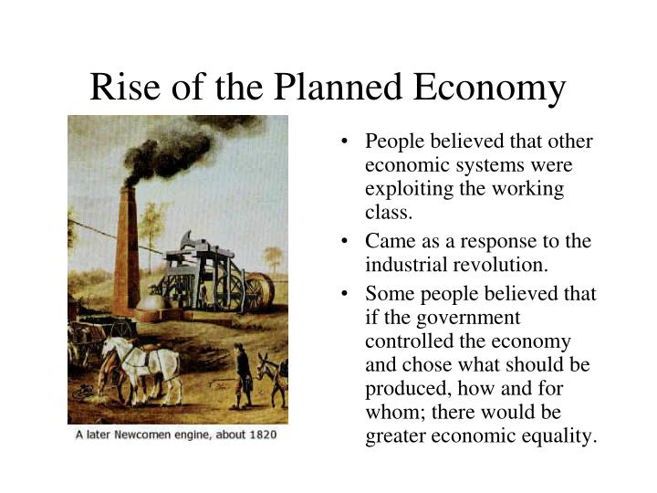 Rise of the Planned Economy