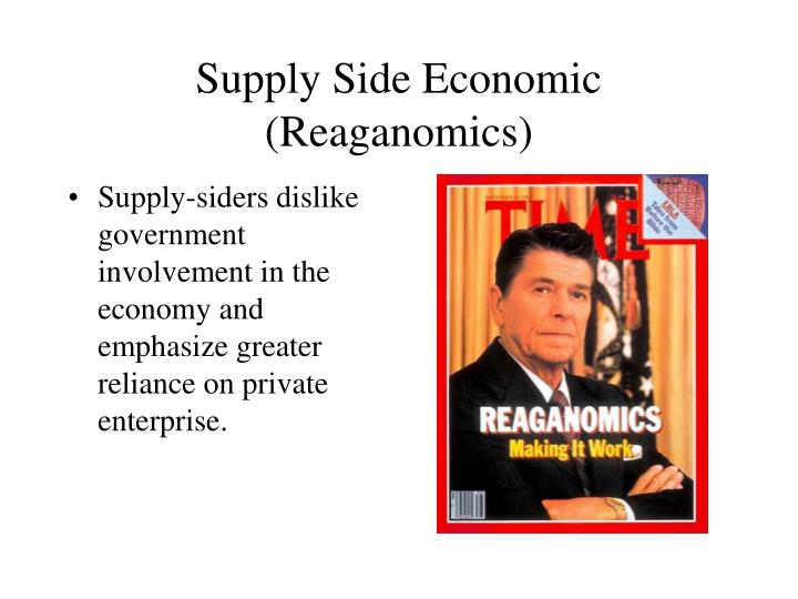Supply Side Economic (Reaganomics)